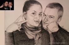 portret cu doi adolescenti | de Anca Suiugan