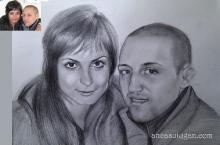 Ofera un portret persoanei dragi
