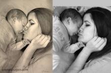 Maternitatea desenata