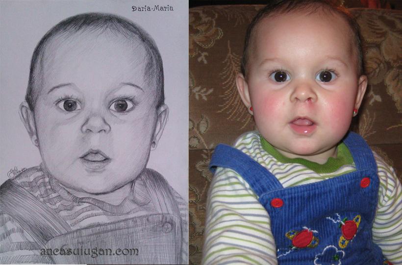 portret de copil mic | de Anca Suiugan