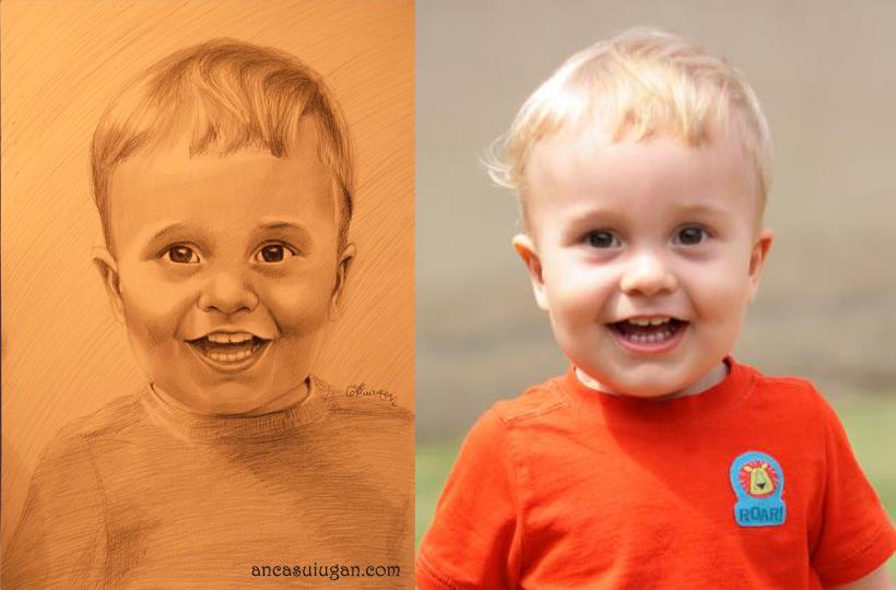 un copil fericit