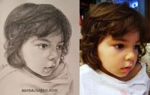 portret de fetita visatoare | de Anca Suiugan