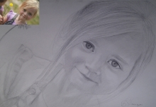 portret fetita