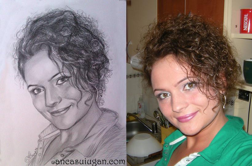 Portret de femeie creata   de Anca Suiugan
