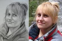 portretul unei blonde | Anca Suiugan