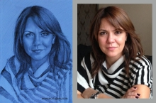 portret de femeie  | Anca Suiugan