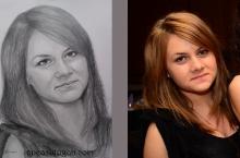 portretul unei tinere adolescente | de Anca Suiugan