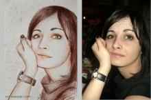 portret sepia  | Anca Suiugan