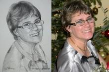 portretul unei doame  | Anca Suiugan