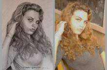 portretul tinerei femei | Anca Suiugan