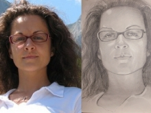 Ofera acum un portret persoanei dragi