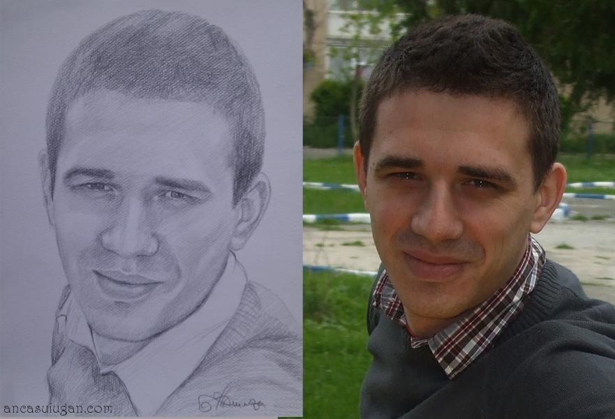 comanda un portret in creion