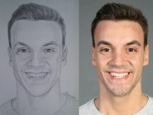 Portretul unui tanar atragator