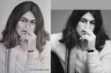 portretul lui  Ian Gillan | Anca Suiugan
