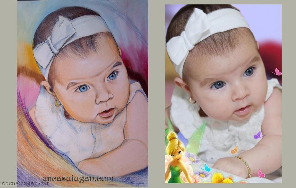 Bebelus cu ochi albastri | de Anca Suiugan