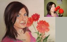 Fata cu flori | de Anca Suiugan