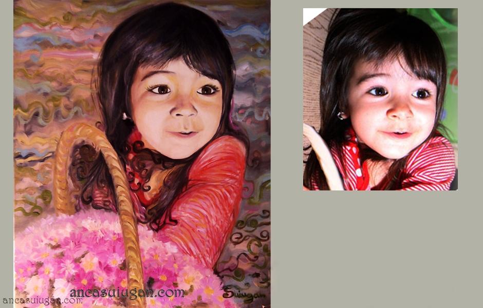 portret de fetita | de Anca Suiugan