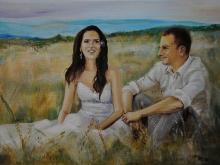 pictura tineri casatoriti | de Anca Suiugan